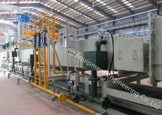 Mesh Belt Furnace Brazing Equipment , High Speed Continuous Furnace Brazing Process